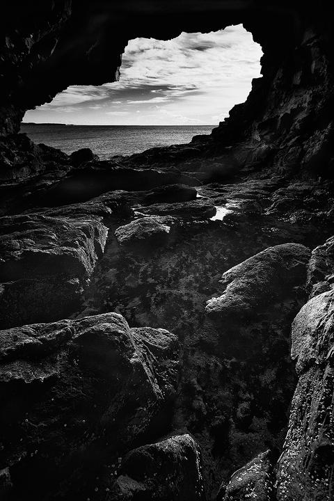 Acadia sea cave2